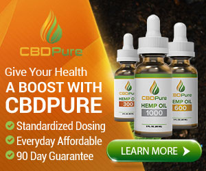 CBD Pure Website Banner - 600 x 500